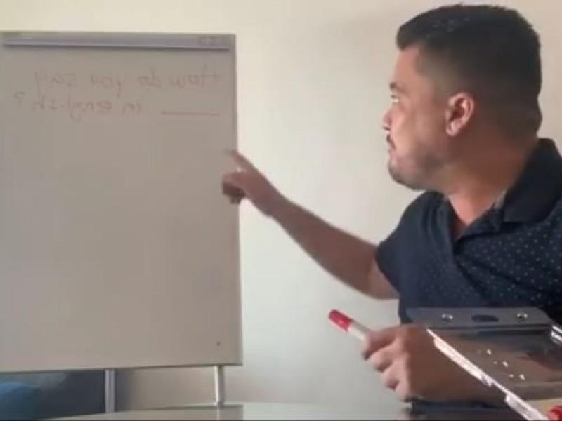 Brindan clases gratuitas de inglés, quedándose en casa