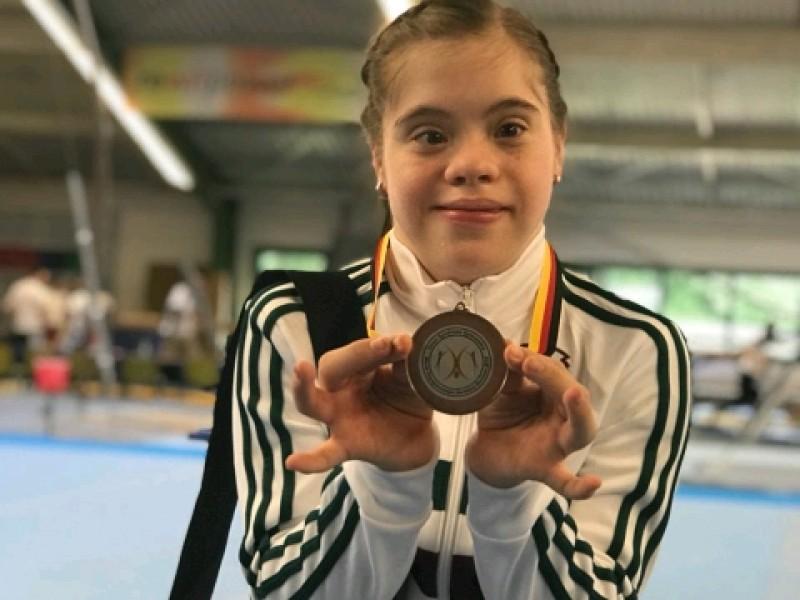 Bronce para Sara Díaz en Mundial de Gimnasia