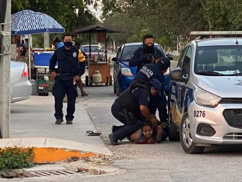 Brutalidad policiaca en Tulum le quita la vida