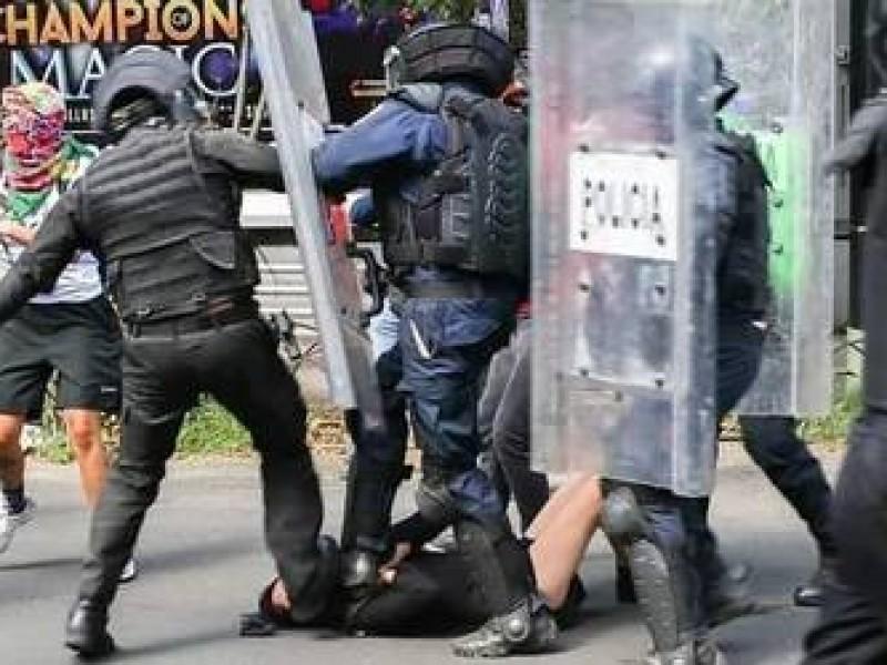 Brutalidad policiaca, una realidad en México