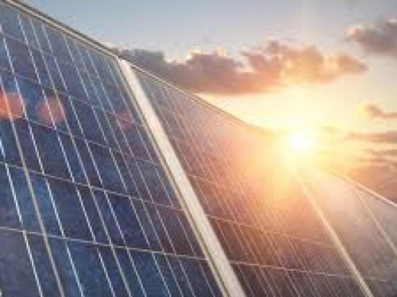 Buenos resultados el uso de energía solar