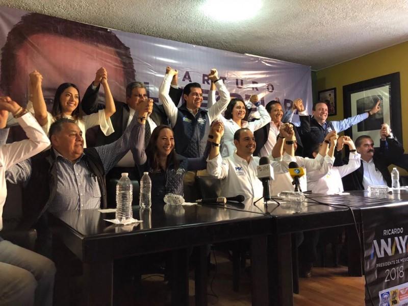 Busca Anaya atraer seguidores de Margarita Zavala
