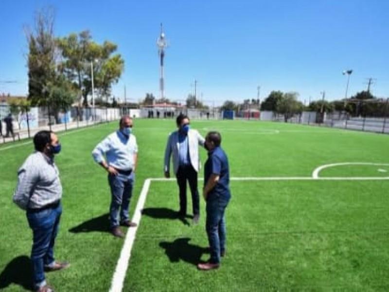 Busca municipio rehabilitación de espacios deportivos