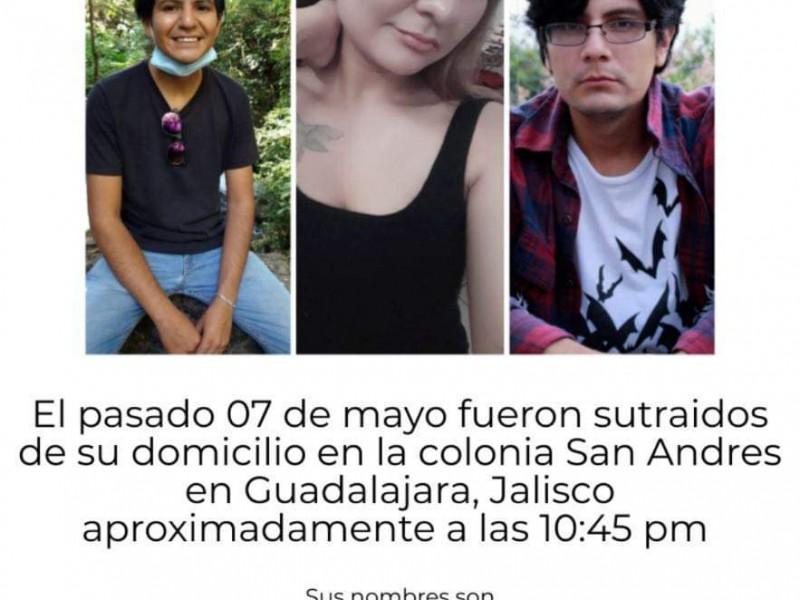 Raptan a 3 hermanos en la colonia San Andrés