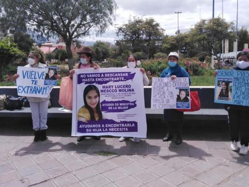 Buscan a joven peruana desaparecida en Jalisco