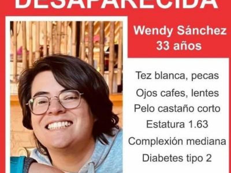 Buscan a Wendy Sánchez en Jalisco, piden agilizar investigación.