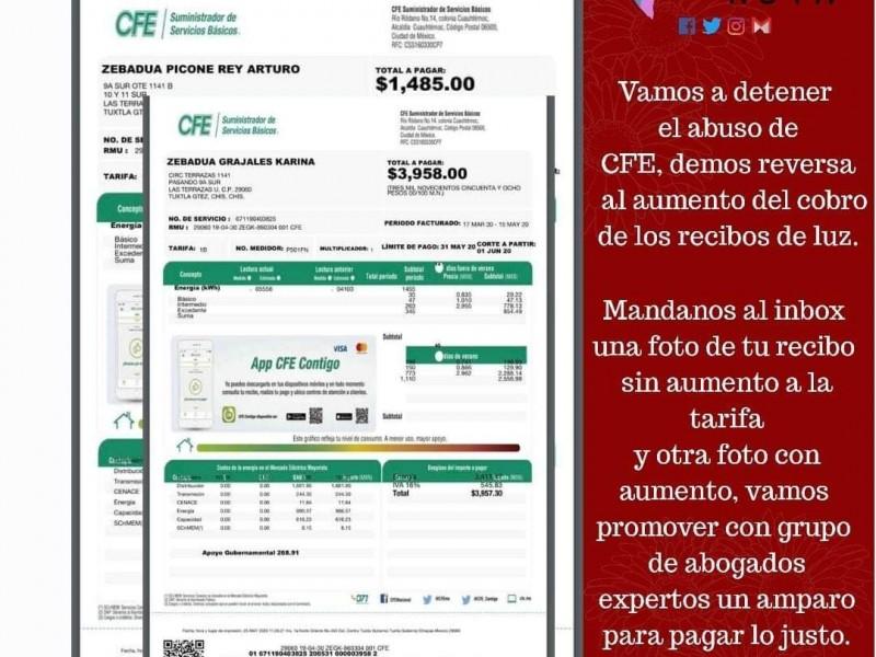 Buscan acuerdo con CFE ante alza al costo de energía