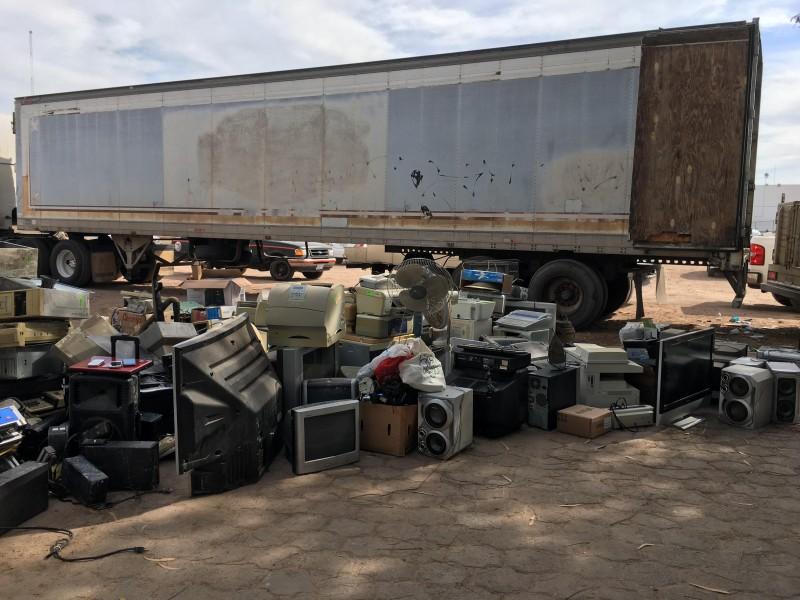 Buscan concientizar la importancia de reciclar aparatos electrónicos