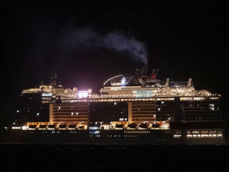 Buscan coronavirus en crucero atracado en Cozumel