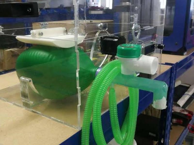 Buscan desarrollar y distribuir respiradores por Covid-19