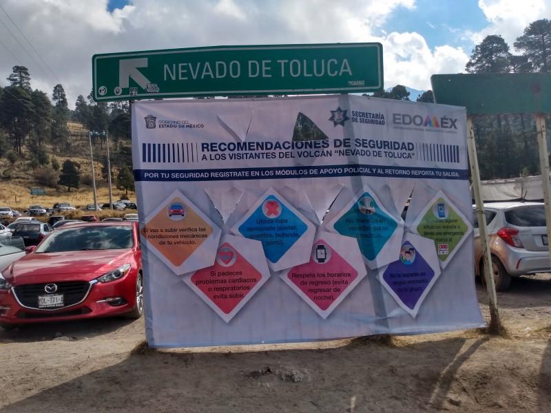 Buscan disminuir extravíos en el nevado de Toluca