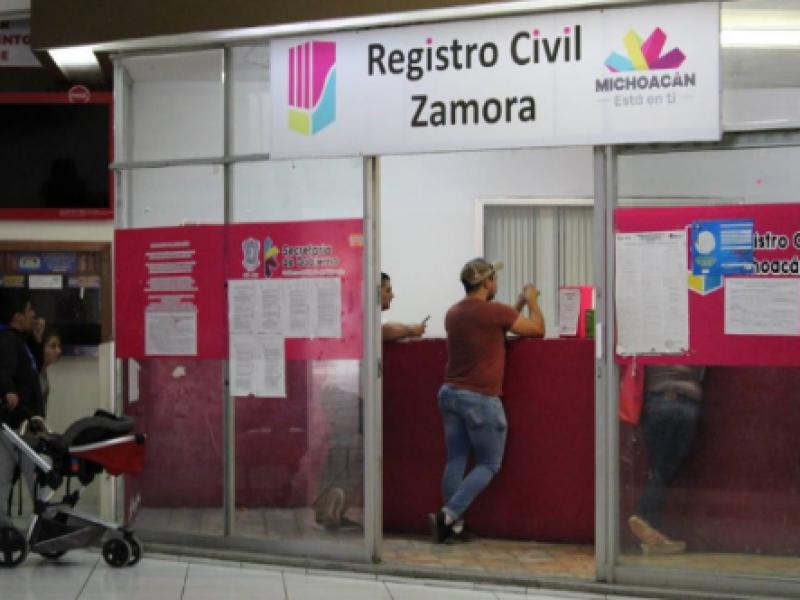 Buscan erradicar malas prácticas en el Registro Civil