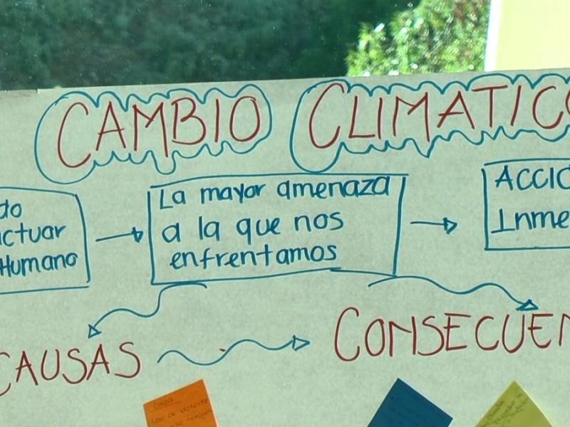 Buscan implementar educación en cambio climático