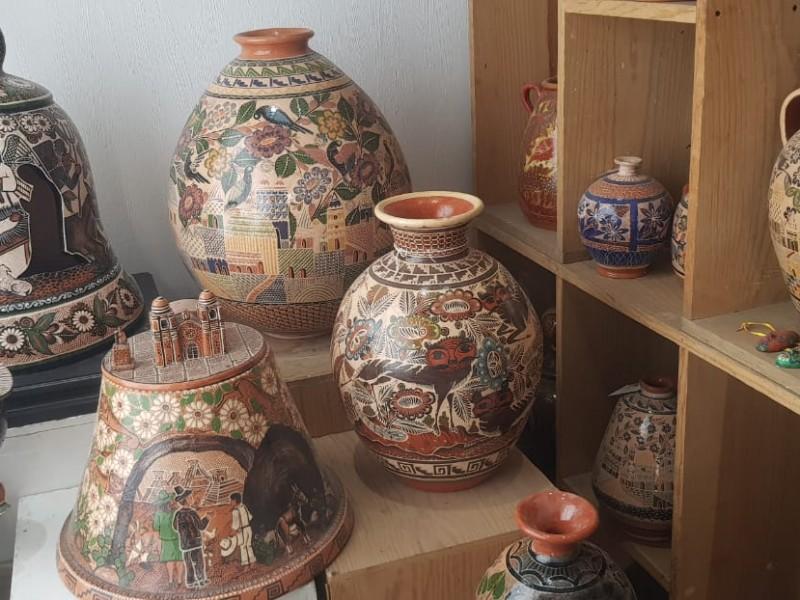 Buscan impulsar venta de artesanías