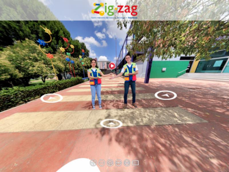 Buscan llevar recorrido virtual de Zig Zag a aulas digitales