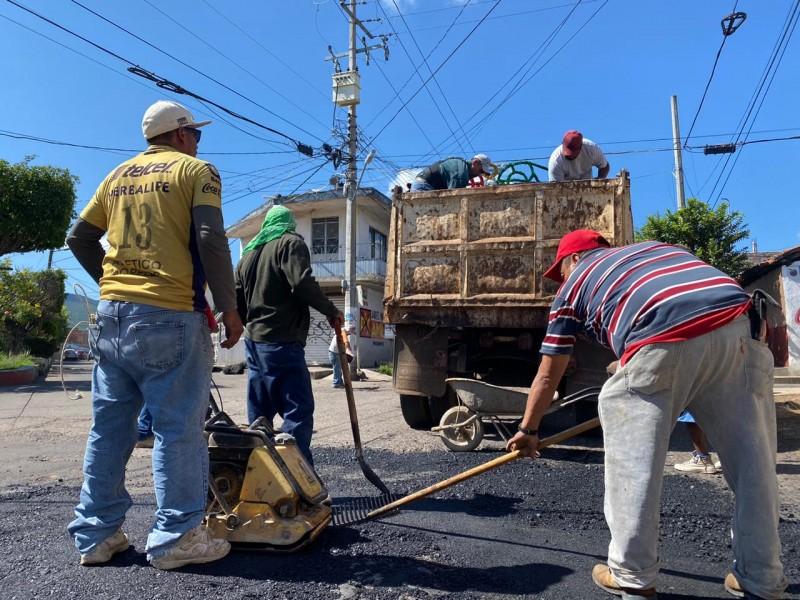 Buscan mejorar condiciones de principales calles de Jacona