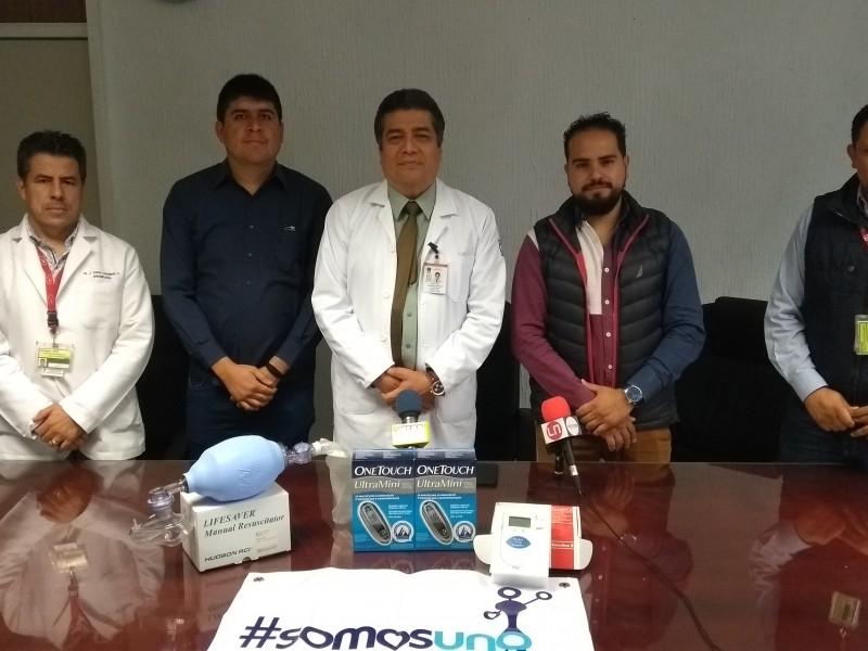 Buscan mitigar rezago de equipamiento en clínica IMSS