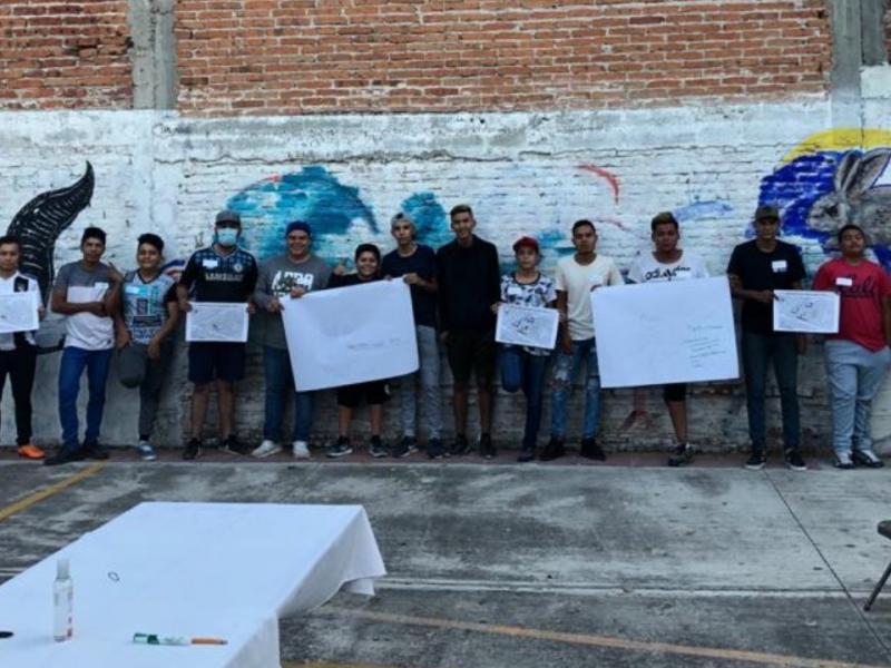 Buscan prevenir violencia con talleres a jóvenes