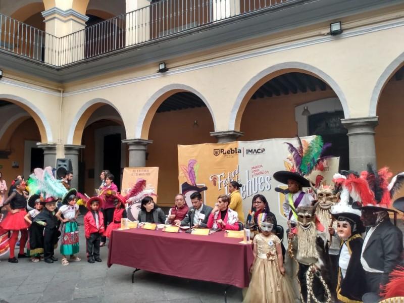 Buscan que Huehues sean patrimonio de Puebla