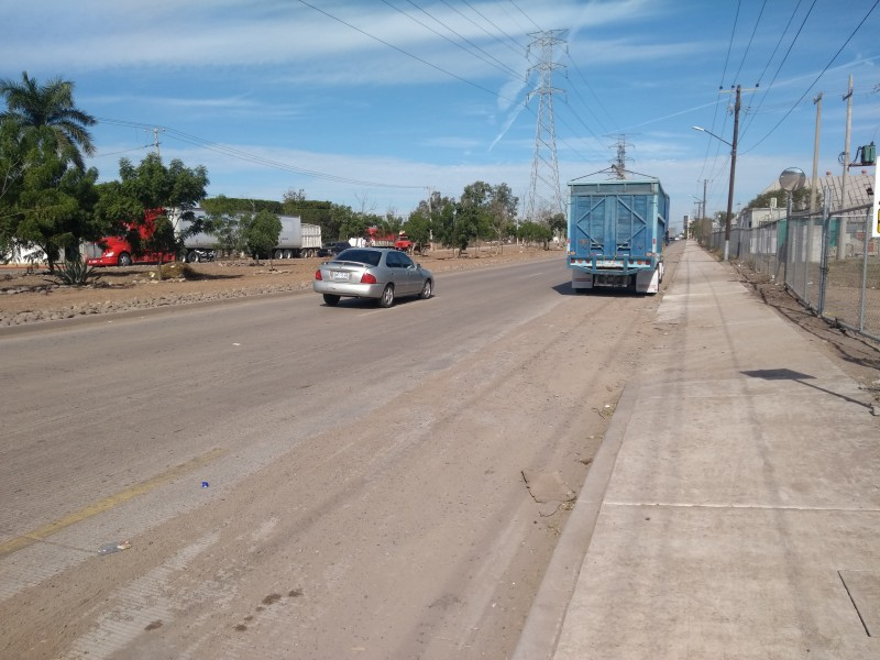 Buscan rehabilitar el boulevard Circunvalación