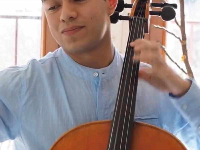 Cabeño fue invitado para tocar con la Orquesta de Cannes