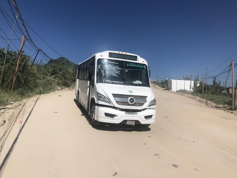 Autorizan nueva ruta del transporte en CSL