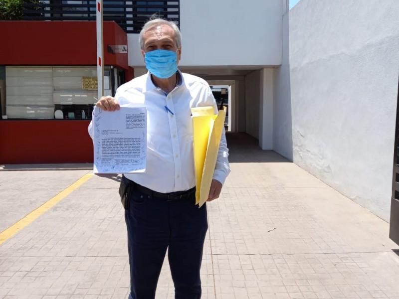 Cabrera Sixto impugna cancelación de candidatura ante Tribunal Electoral