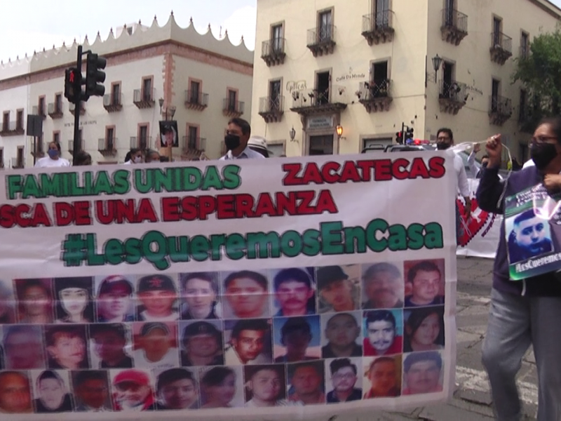 Cada semana desaparecen 20 Zacatecanos