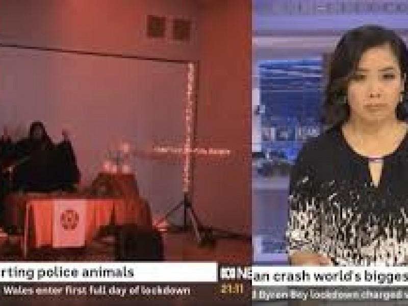 Cadena televisiva australiana transmite por error escenas de rito satánico
