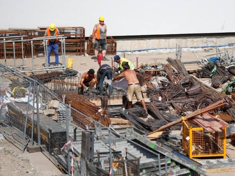 Cae 10% industria de la construcción: Inegi