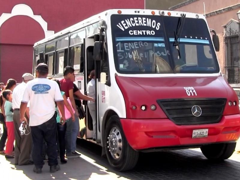 Cae ganancias del transporte por obras del centro