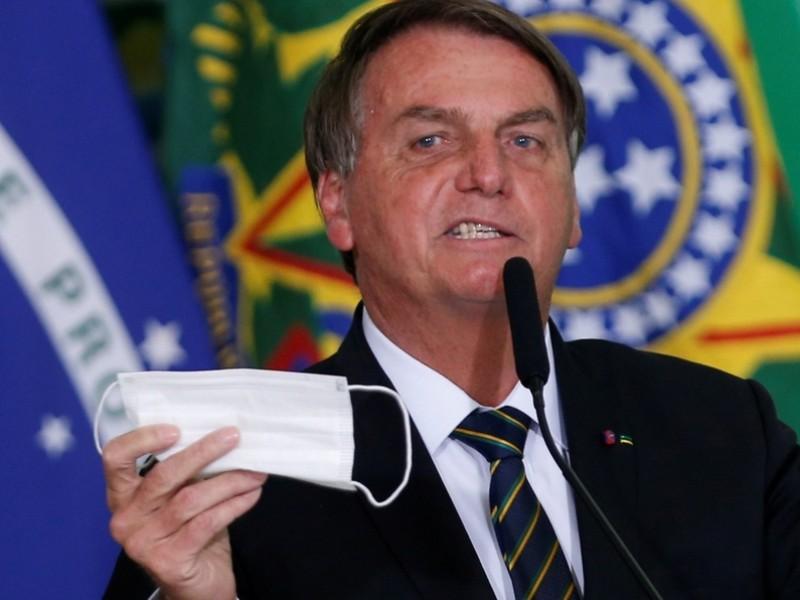 Cae aprobación de Bolsonaro por gestión de la pandemia Covid-19