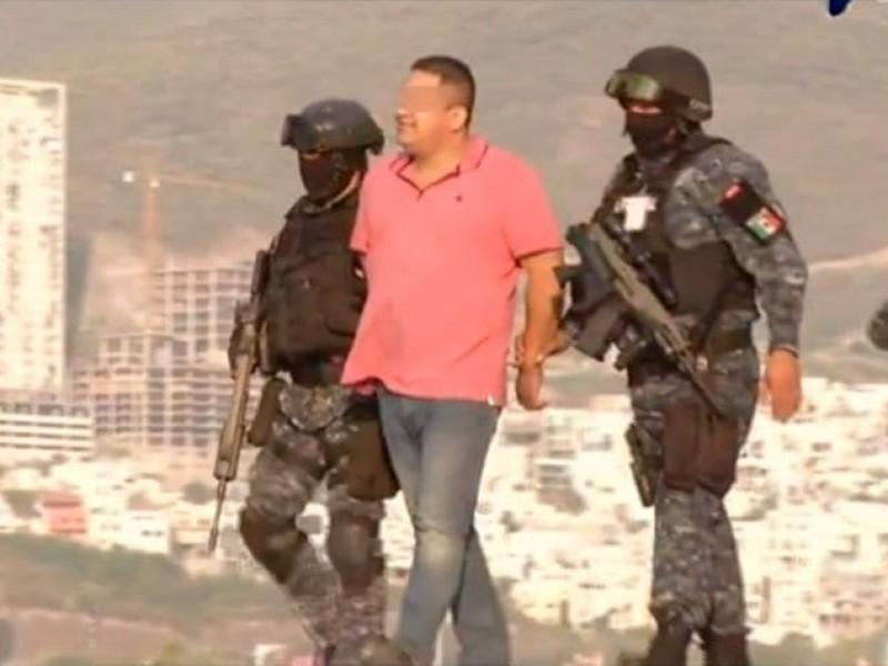 Cae 'El Pelonchas', presunto líder criminal