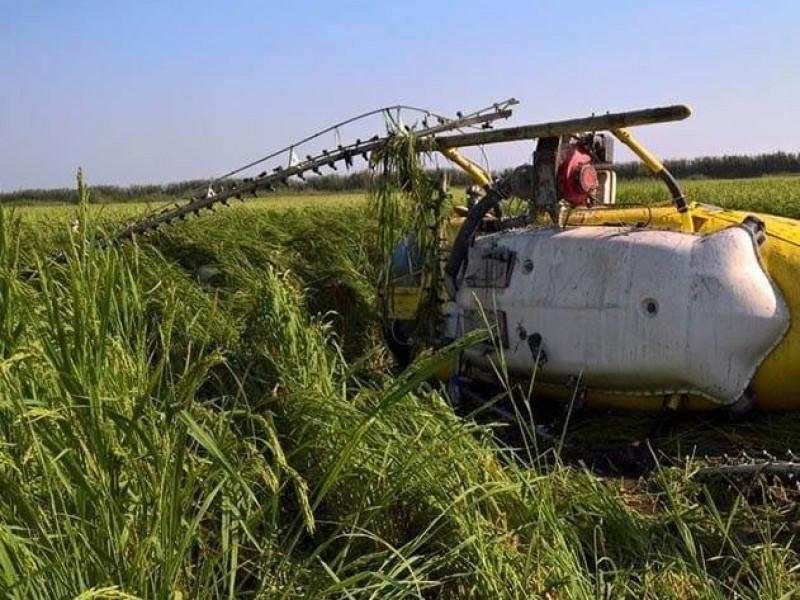 Cae helicóptero en Oaxaca