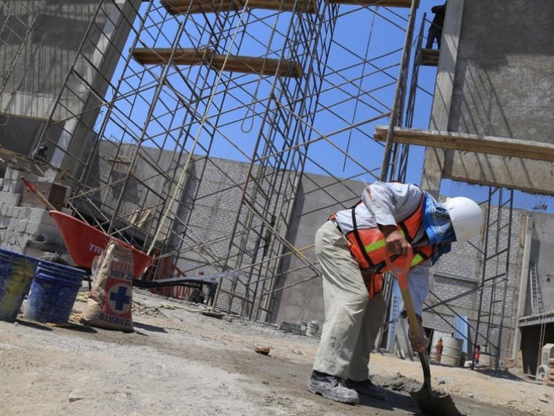 Cae industria de la construcción en Chiapas