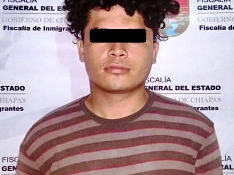 Cae integrante de la pandilla Barrio 18 en Chiapas
