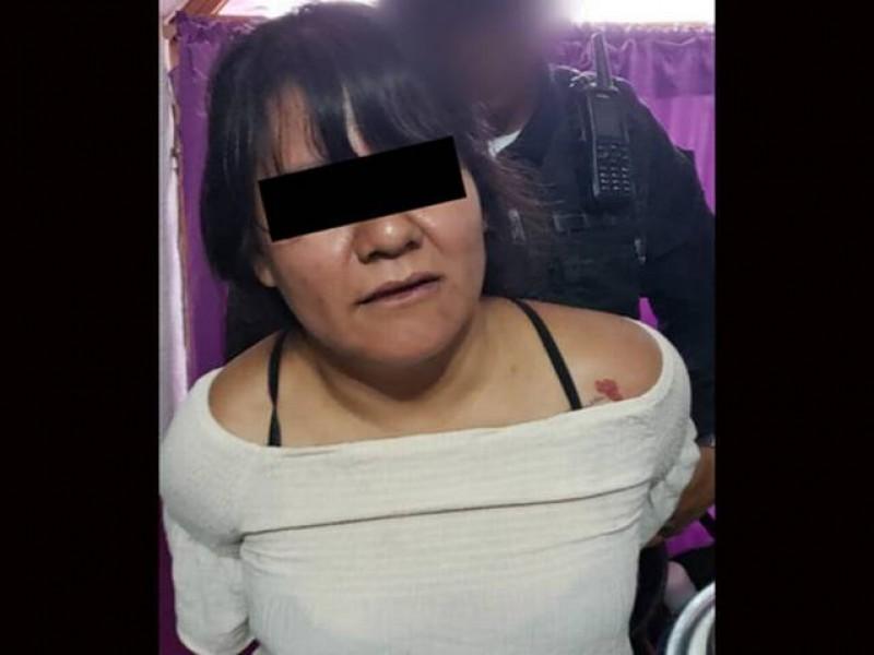 Cae mujer con drogas y cartuchos en Tlalpan