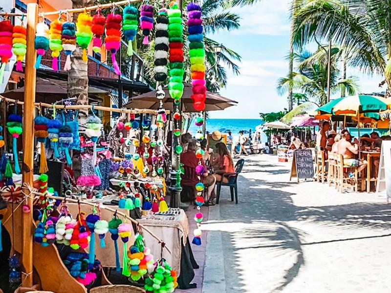 Cae turismo internacional en México, Covid-19 continúa causando estragos