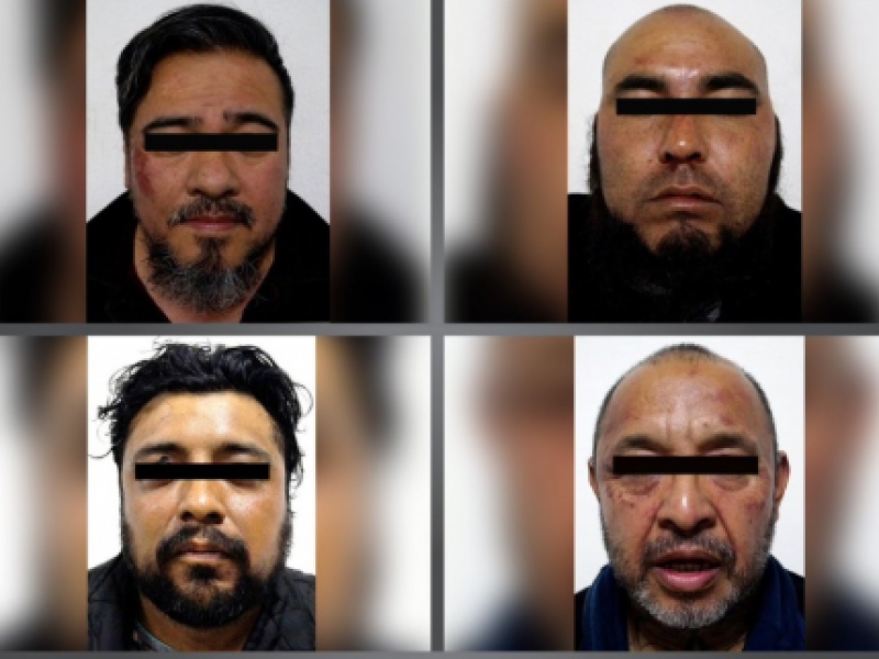 Caen 4 secuestradores; recatan a menor
