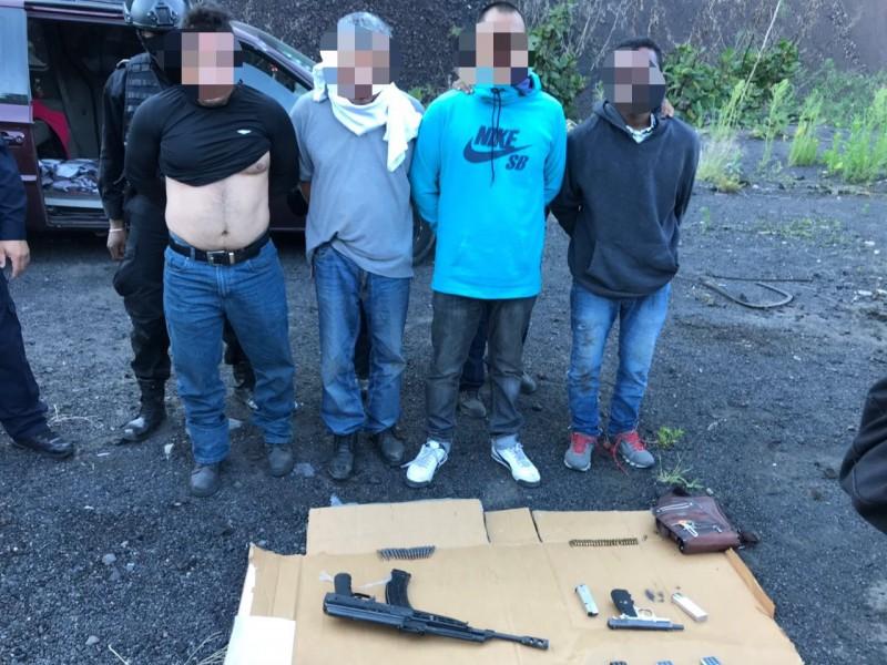 Caen cuatro secuestradores en Tláhuac