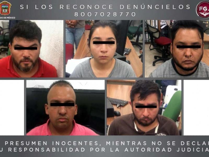 Detienen a 5 en Ecatepec; traían mariguana y pseudoefedrina