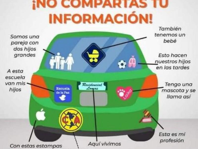 Calcas familiares en autos pueden ser un peligro
