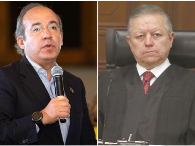 Calderón presionó a la SCJN por caso Florence:Zaldívar