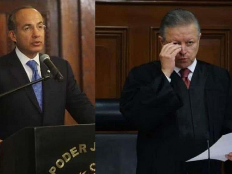 Calderón presionó en fallos cuando era presidente: Zaldívar
