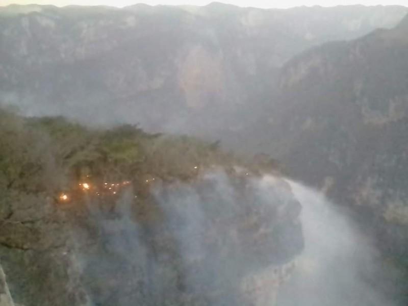Calidad de aire regular debido a incendios forestales