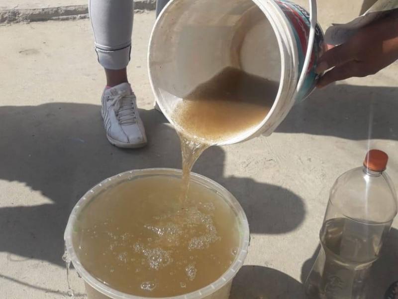 Calidad del agua se afectó por reparaciones en acuaferico sur