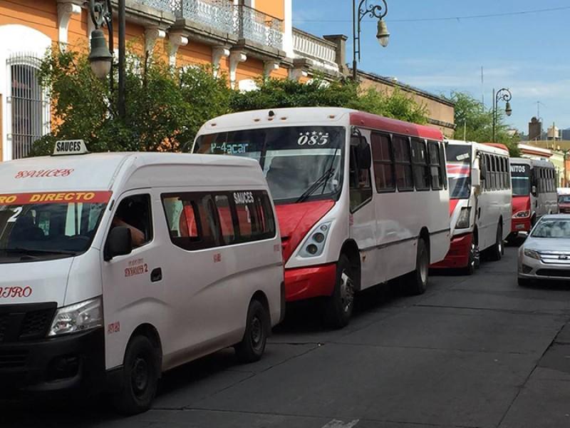 Calificará ciudadanía calidad de servicio en transporte público