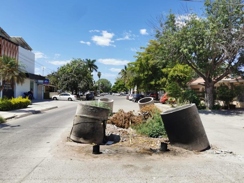 Calle Niños Héroes, la ruta de los socavones