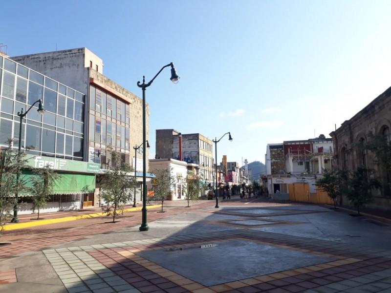 Calles de Centro Histórico no se abrirán aún: Obras Públicas