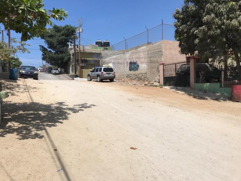 Calles de CSL tienen 30 años sin pavimentar